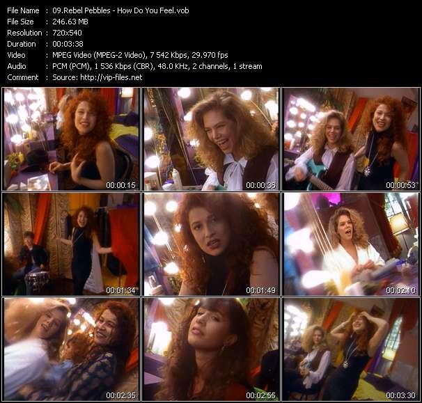 Screenshot of Music Video Rebel Pebbles - How Do You Feel