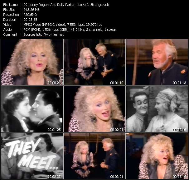 Kenny Rogers And Dolly Parton video vob
