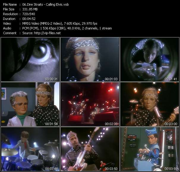 Dire Straits video vob