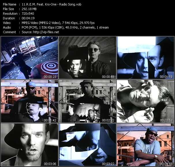 R.E.M. Feat. Krs-One video vob