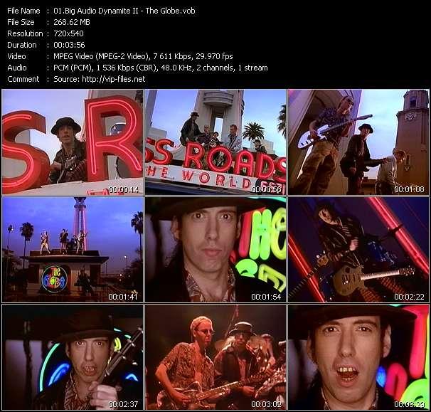 Screenshot of Music Video Big Audio Dynamite II - The Globe