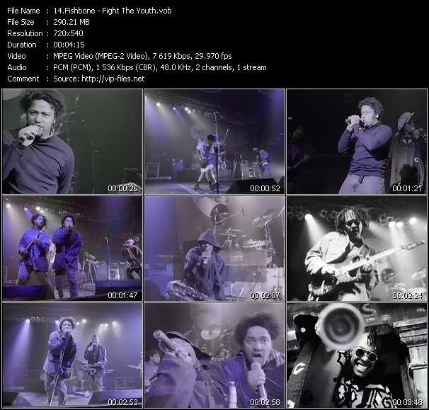 Screenshot of Music Video Fishbone - Fight The Youth