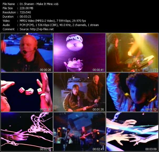 Screenshot of Music Video Shamen - Make It Mine