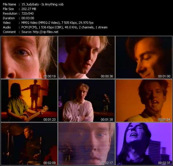 Screenshot of Music Video Judybats - Is Anything