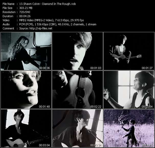 Screenshot of Music Video Shawn Colvin - Diamond In The Rough