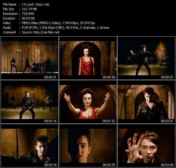 Screenshot of Music Video Loud - Easy