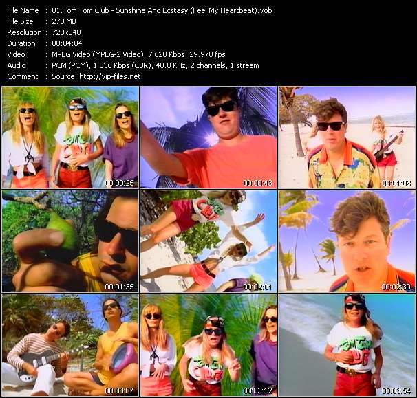 Tom Tom Club video vob