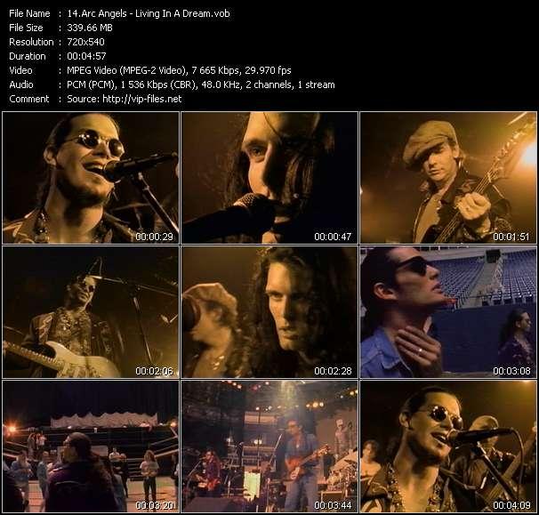 Screenshot of Music Video Arc Angels - Living In A Dream