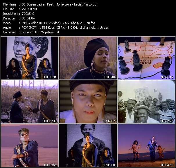 Queen Latifah Feat. Monie Love video vob