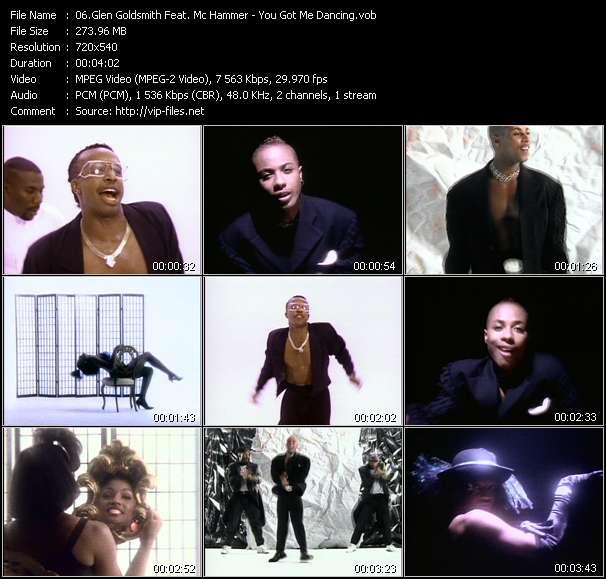 Glen Goldsmith Feat. Mc Hammer video vob