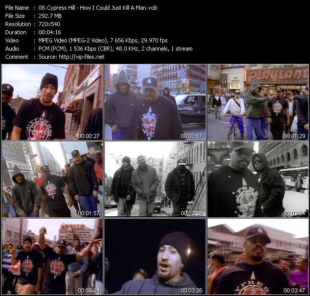 Screenshot of Music Video Cypress Hill - How I Could Just Kill A Man
