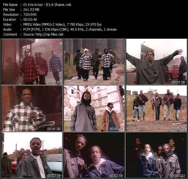 Screenshot of Music Video Kris Kross - It's A Shame