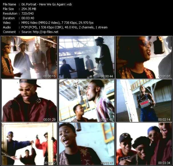 Screenshot of Music Video Portrait - Here We Go Again!
