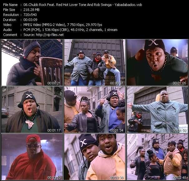 Screenshot of Music Video Chubb Rock Feat. Red Hot Lover Tone And Rob Swinga - Yabadabadoo