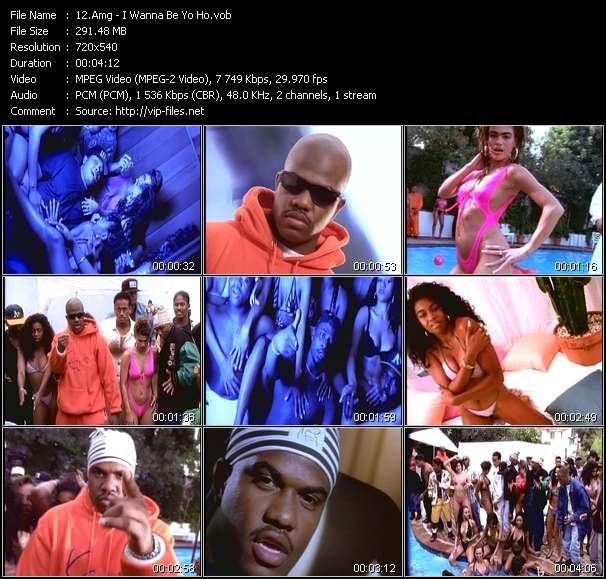Screenshot of Music Video Amg - I Wanna Be Yo Ho