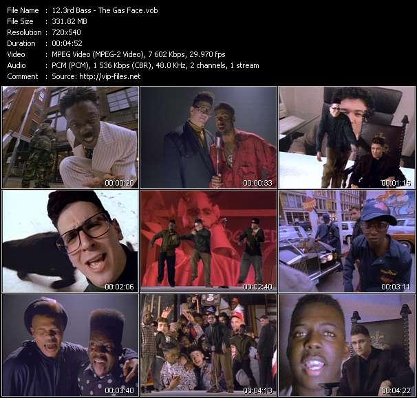 Screenshot of Music Video 3rd Bass - The Gas Face