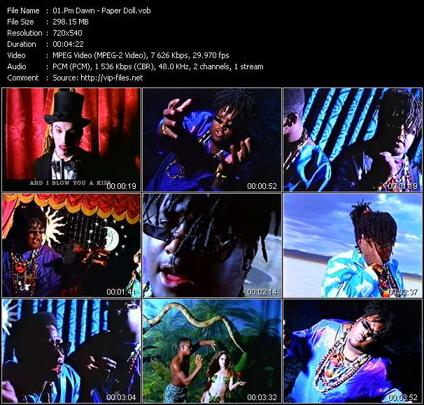 Pm Dawn video vob
