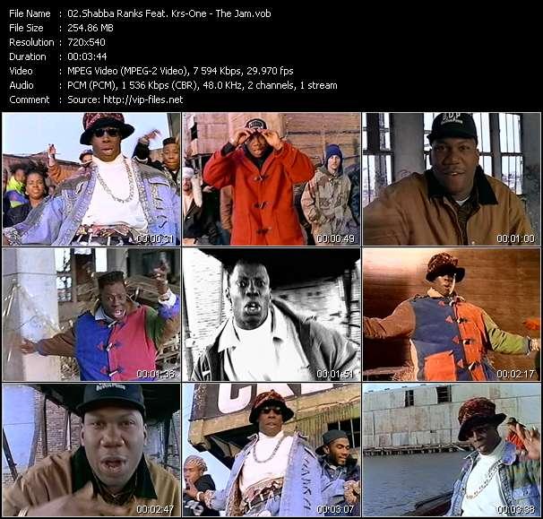 Shabba Ranks Feat. Krs-One видеоклип vob