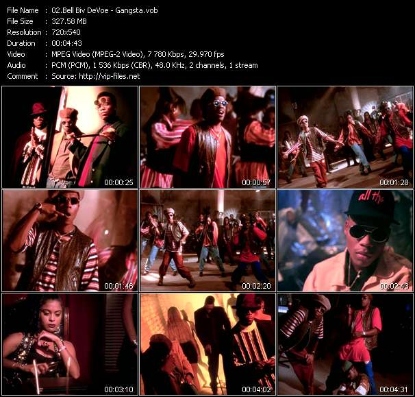 Bell Biv DeVoe clips musicaux vob