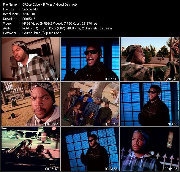 Ice Cube video vob