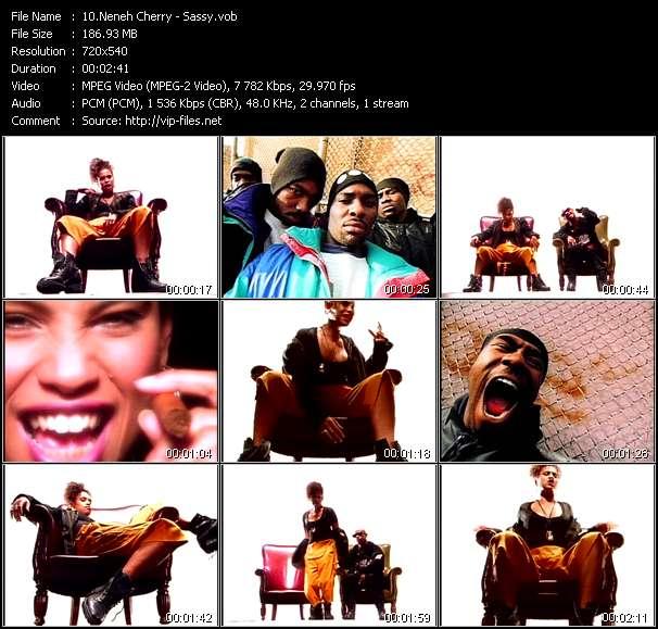 Screenshot of Music Video Neneh Cherry - Sassy