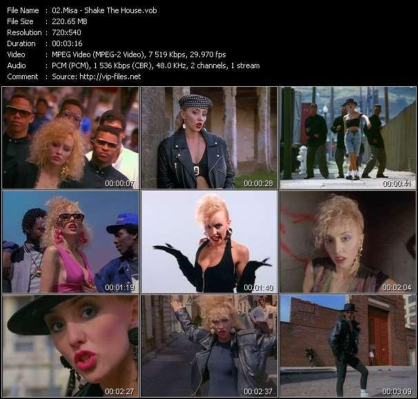 Screenshot of Music Video Misa - Shake The House