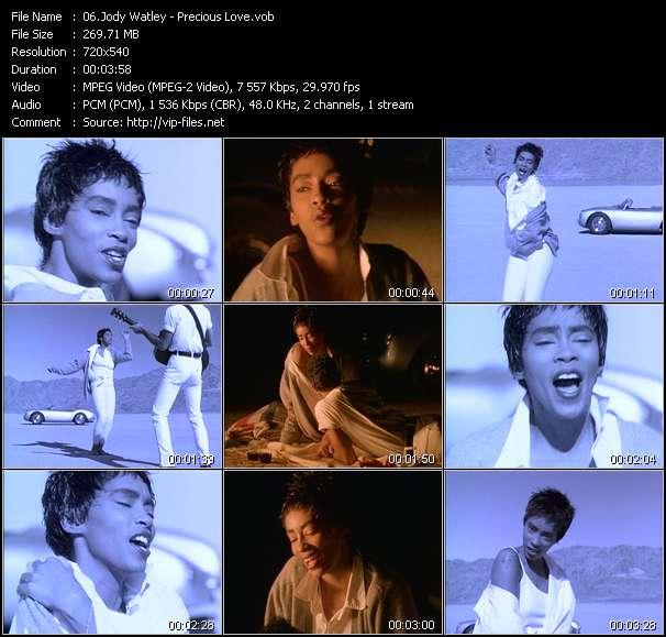 Screenshot of Music Video Jody Watley - Precious Love
