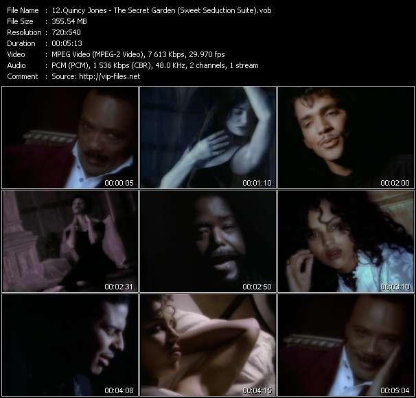 Quincy Jones Feat. El DeBarge, James Ingram, Al B. Sure! And Barry White видеоклип vob