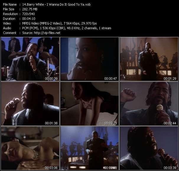 Barry White video vob