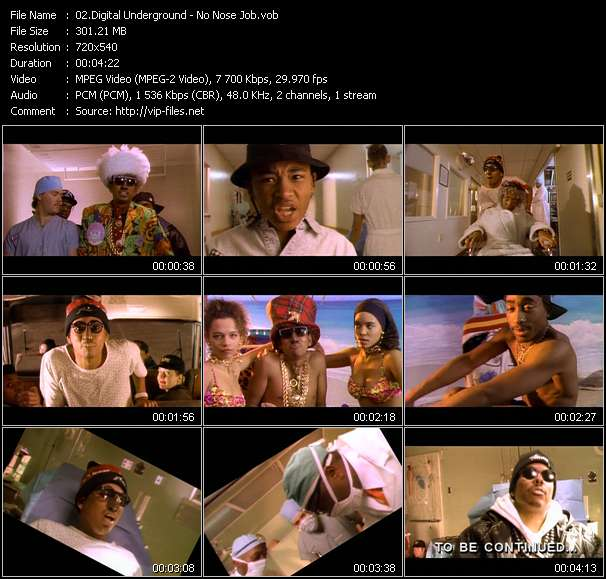 Digital Underground video vob