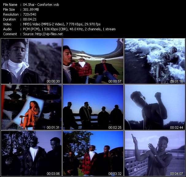 Screenshot of Music Video Shai - Comforter