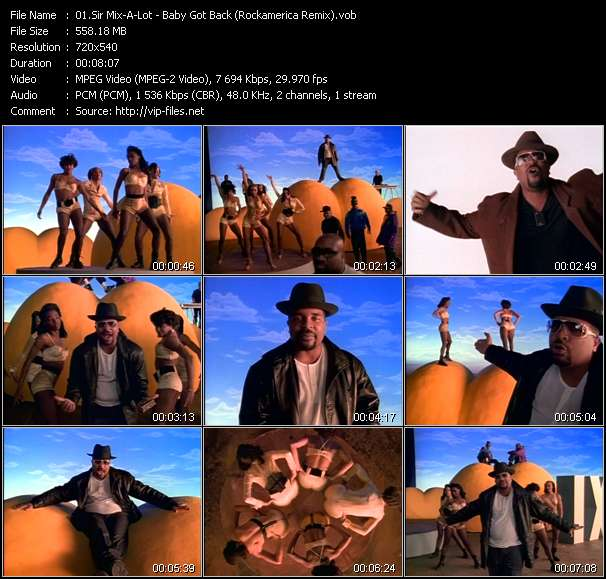Sir Mix-A-Lot video vob