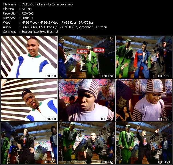 Screenshot of Music Video Fu-Schnickens - La Schmoove