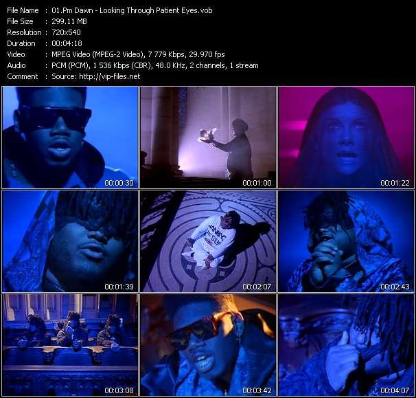 Screenshot of Music Video Pm Dawn - Looking Through Patient Eyes