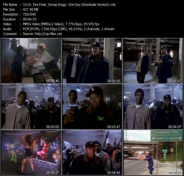 Dr. Dre Feat. Snoop Dogg video vob