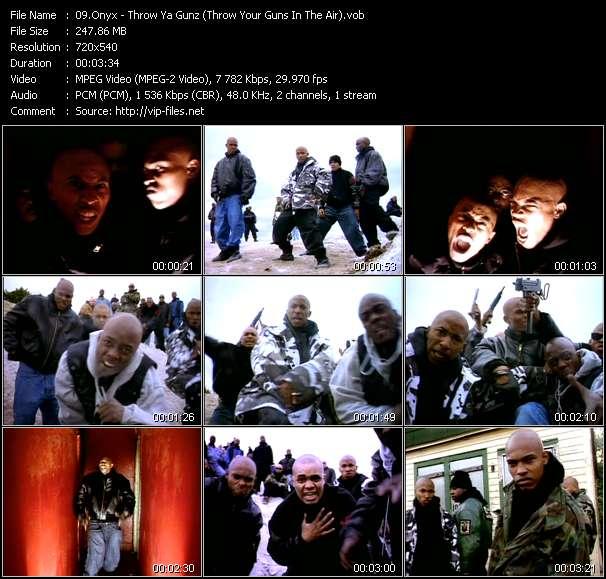 Screenshot of Music Video Onyx - Throw Ya Gunz (Throw Your Guns In The Air)