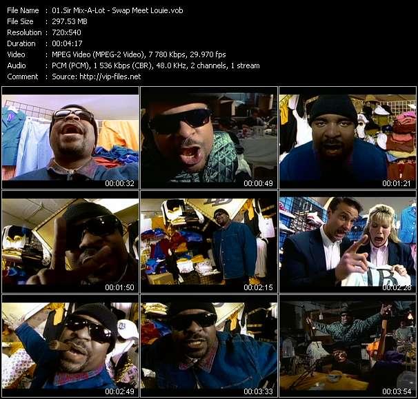 Sir Mix-A-Lot video vob