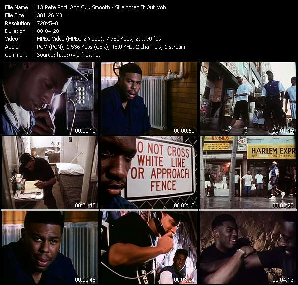 Pete Rock And C.L. Smooth video vob