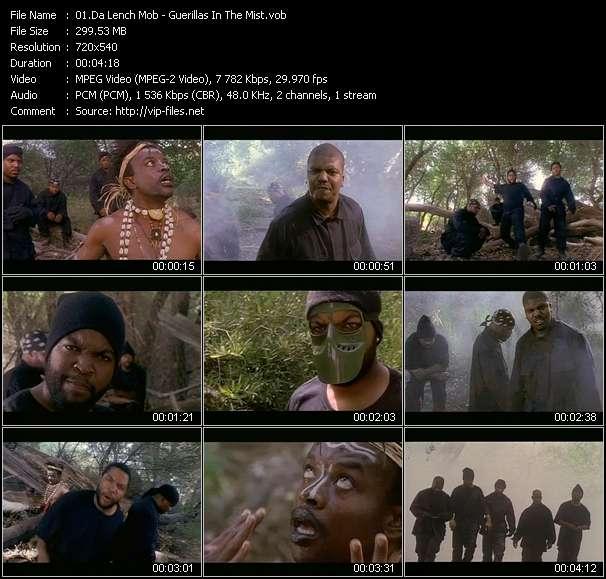 Screenshot of Music Video Da Lench Mob - Guerillas In The Mist