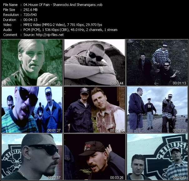 Screenshot of Music Video House Of Pain - Shamrocks And Shenanigans
