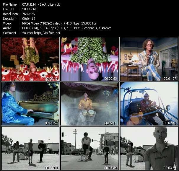 Screenshot of Music Video R.E.M. - Electrolite