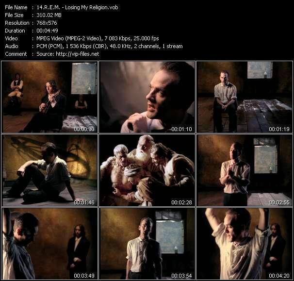 Screenshot of Music Video R.E.M. - Losing My Religion