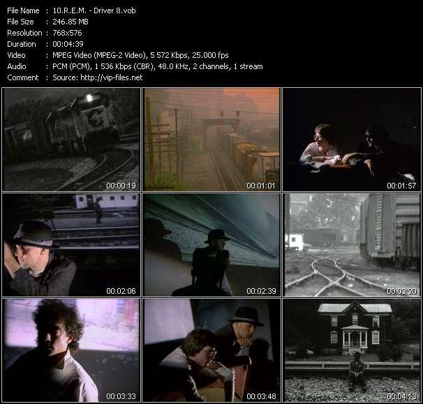 Screenshot of Music Video R.E.M. - Driver 8