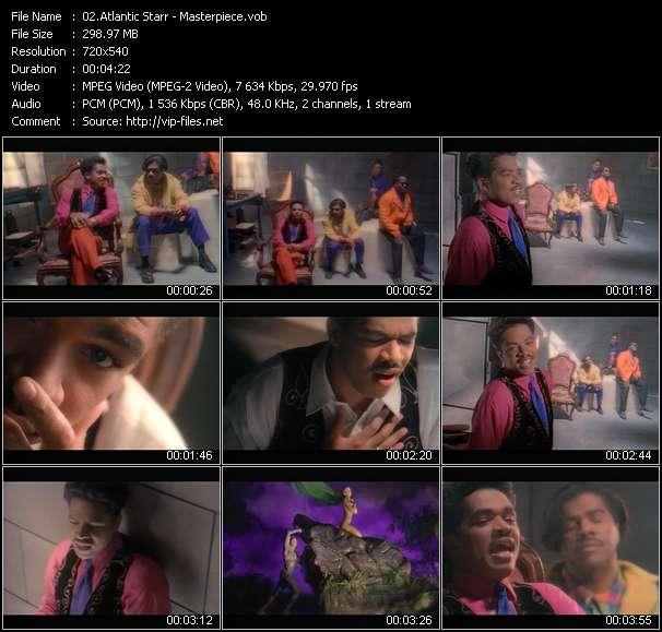 Screenshot of Music Video Atlantic Starr - Masterpiece