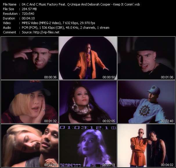 "Screenshot of Music Video C And C Music Factory Feat. Q-Unique And Deborah Cooper - Keep It Comin' (Dance Till You Can't Dance No More!) (From ""Buffy The Vampire Slayer"")"
