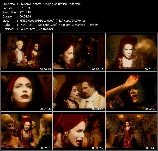 Annie Lennox video vob