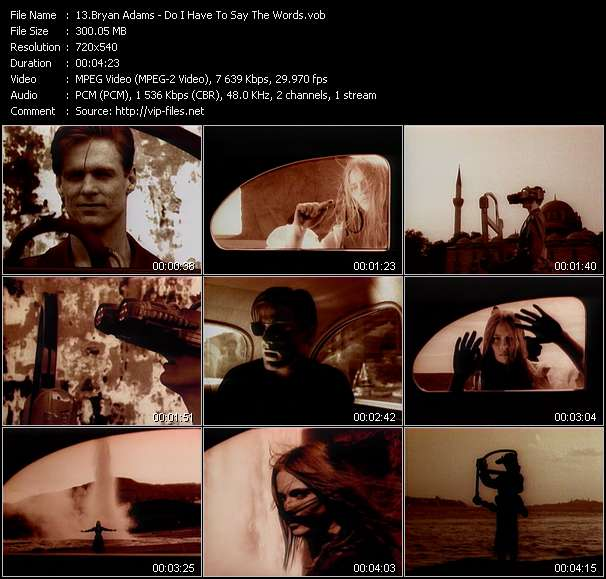 B. Adams video vob
