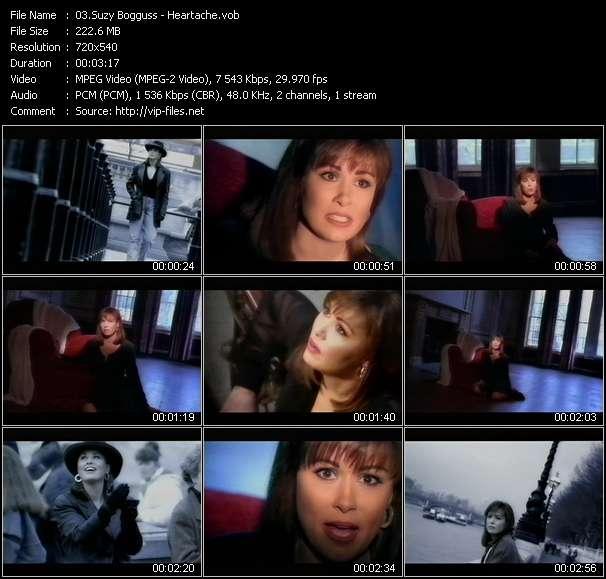 Screenshot of Music Video Suzy Bogguss - Heartache