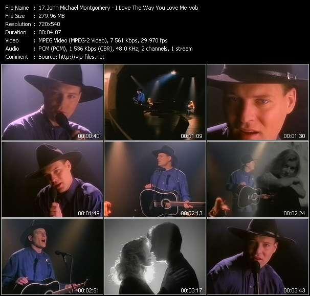 Screenshot of Music Video John Michael Montgomery - I Love The Way You Love Me