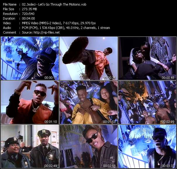 "Screenshot of Music Video Jodeci - Let's Go Through The Motions (From ""Who's The Man?"")"
